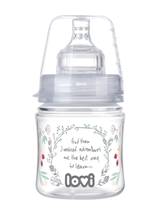 Lovi Butelka Trends 120 ml Indian Summer smoczek mini 0m+